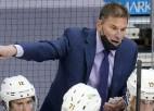 """""""Bruins"""" treneris saņem 25 tūkstošu sodu par tiesnešu kritizēšanu"""