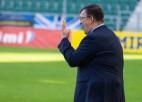 Kazakevičs skaidro mazo rotāciju un grūtības aizstāt trūkstošos līderus