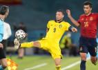 Spānija uzstāda EČ rekordu un finālturnīra sākumā nespēj iesist Zviedrijai