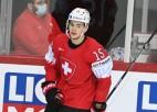 """""""Blue Jackets"""" noslēdz līgumu ar Merzļikina bijušo komandas biedru Šveicē"""