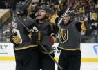 ''Golden Knights'' pārtrauc ''Canadiens'' uzvaru sēriju un sērijā panāk 1-0