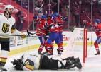 """""""Canadiens"""" pagarinājumā izslēdz Vegasu, 35. reizi iekļūstot Stenlija kausa finālā"""