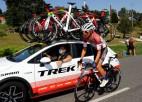 ''Tour de France'' individuālajā braucienā uzvar Pogačars, Skujiņš - 50. vietā