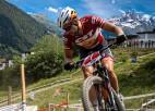 Blūms labāko desmitniekā Šveices kausa posmā MTB XCO krosā