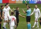 """Video: Anglija uzvar Vāciju un iekļūst """"Euro 2020"""" ceturtdaļfinālā"""