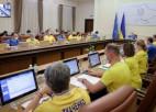 Video: Ukrainas valdība saģērbjas futbola izlases spēlētāju kreklos