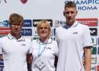 Latvijas peldētājiem pieticīgi rezultāti Eiropas junioru čempionātā