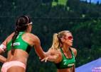 Latvijas pludmales volejbola elitei kļūst zināmi pretinieki Eiropas čempionātā