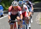 """Skujiņam sezonas labākais rezultāts """"Tour de France"""", pirmā uzvara Konrādam"""