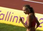 Video: Sopova sasniedz rekordu un nopelna U20 EČ medaļu trīssoļlēkšanā