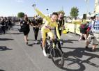 """Skujiņam 88. vieta, Pogačars gatavojas svinēt otro """"Tour de France"""" titulu"""