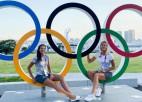 Pēc olimpiešu uzvarām pludmales volejbola nometnē Latvijā mači ir enerģiskāki