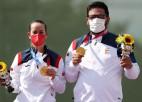 Spānijas šāvēji uzvar tranšejas stendā, Sanmarīno otrā Tokijas OS medaļa