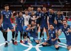 Argentīnas volejbolisti aizsūta mājās ASV, 1/4-finālā iespraucas arī Japāna