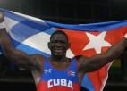 Grieķu-romiešu cīņās dominē Kubas sportisti, brīvajās cīņās līdz 79 kg uzvar vāciete