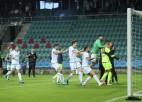 Igauņu ''Flora'' zaudē <i>pendelēs</i>, ''Riga'' uzvaras gadījumā spēlēs pret Gibraltāra klubu