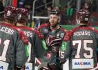 Latvija otrajā periodā ielaiž trīs un cieš zaudējumu pret Norvēģiju
