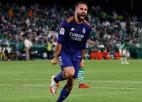 """Karvahals ar skaistu vārtu guvumu palīdz """"Real Madrid"""" pārspēt """"Real Betis"""""""