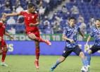 Omānas futbolisti sagādā sensāciju Japānā, Austrālija sakauj Ķīnu