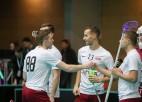 Vīriešu florbola izlasei divas pārbaudes spēles Somijā
