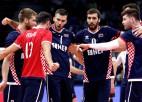 Horvāti Latvijai izdevīgā veidā atspēlējas no 0:2 un pieveic Igauniju
