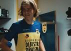 """Video: Uldriķis tiek sagaidīts Nīderlandes klubā """"Cambuur"""""""