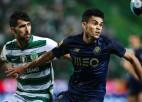 """Derbijā """"Porto"""" izglābj punktu pret čempioni """"Sporting"""", """"Benfica"""" atraujas"""