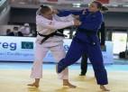 Divi mūsējie tiek astotniekā Eiropas čempionātā džudo junioriem