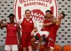 """Zībartam pirmā uzvara ar """"Olympiacos"""", Laksai graujošs panākums pret Boloņas """"Virtus"""""""