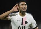 PSG atkal līksmo pēdējās sekundēs un Francijā izrauj septīto uzvaru septiņās spēlēs