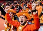 Nīderlandes izlasi Daugavas stadionā viesu sektorā atbalstīs 900 līdzjutēji