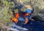 """Video: Kipras rallijā pilnībā nodeg El-Atijas avarējušais """"Volkswagen Polo GTI R5"""""""