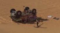 Dakaras rallija 3.posmā vairākas avārijas un izstāšanās
