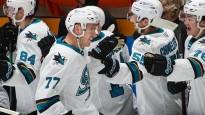 Aizsargs Čukste AHL debitē uzbrucēja pozīcijā un izceļas ar vārtu guvumu
