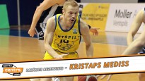 Basketbola sezonas spīdekļi: enerģijas lādiņš no soliņa - Kristaps Mediss
