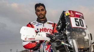 Indiešu sportists pēc kritiena Dakaras rallijā atrodas mākslīgajā komā