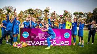 Debitanti, vietējā klasika un ceļš uz stabilitāti. Startē sieviešu futbola sezona