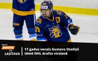 Interesi no NHL var piesaistīt arī Latvijā: Gustavs Ozoliņš jau domā par Ameriku