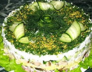 Brīvdienu salāti Gardumiņš