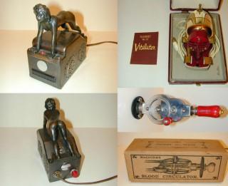 Foto: Maika Kempbela (Mike Campbell)  vibratoru muzeja kolekcija