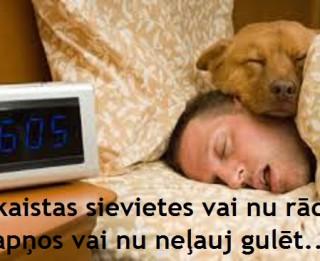 Foto: Skaistas sievietes vai nu rādās sapņos vai nu neļauj gulēt