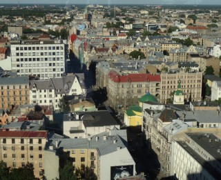 Foto: Rīga  no putna lidojuma. 10 foto