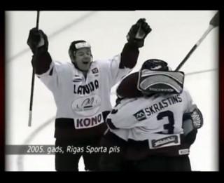 Video: Kā tas bija? 2005. gads- Latvijas hokejisti uzvar Baltkrieviju un soļo tālāk...