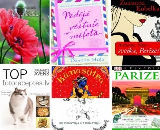 Sešas skaistas grāmatas Valentīndienai