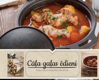 """White Book iznākusi jauna pavārgrāmata """"Cāļa gaļas ēdieni"""""""