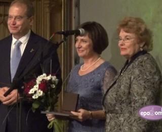 Video: Svinīgā pasākumā apbalvo Rīgas bērnudārzu labākos darbiniekus