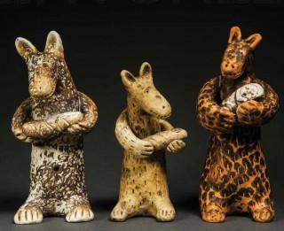 Rīdzinieku mājā-muzejā Mencendorfa nams 16. janvārī Daugavpils keramikas studijas «Latgale» izstādes  atklāšana