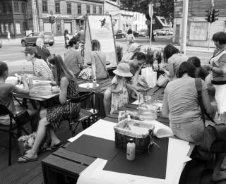Mākslinieka Miķeļa Fišera autorvakars un radošās darbnīcas bērniem MVT Vasaras mājā