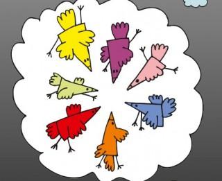 """Iznācis  Maijas Laukmanes dzejoļu krājums bērniem  """"Par ko sapņo 7 vārnas"""""""