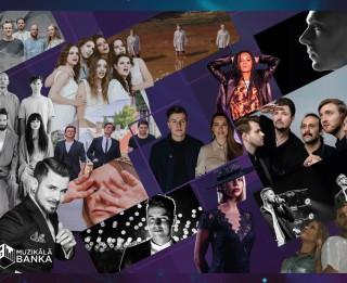 """Zināmas """"Muzikālās bankas"""" 15 finālistes"""